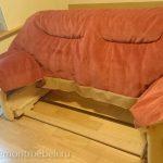 Пример полной перетяжки дивана