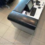 Перетяжка мебели в магазине Adidas