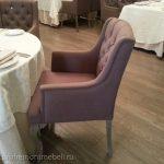 Ремонт мебели в ресторане Гюго