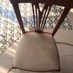 Работа по перетяжке стульев