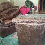 Пример ремонта мягкой мебели