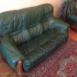 Пример замены обивки дивана
