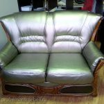 Замена обивки офисного дивана
