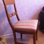 Замена ткани на сиденье стула