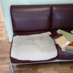 Ремонт мягкой мебели в школе