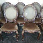 Пример перетяжки стульев