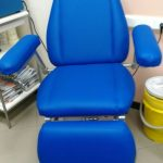 Фото перетяжки медицинского кресла