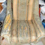 Ремонт и смена обивки у кресла