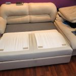 Обивка внутренней части раскладного дивана