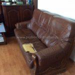 Фото ремонта кожаного дивана
