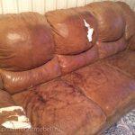 Фото ремонта мягкой мебели