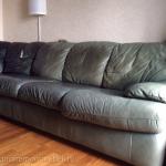 Фото обивки дивана кожей