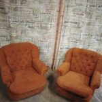 Реставрация дивана и кресел