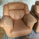 Пример ремонта кресла