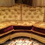 Пример обивки дивана в классическом стиле