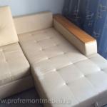 Пример перетяжки углового дивана